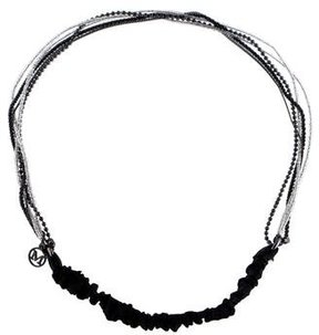 Maison Michel Beaded & Chain-Link Headband