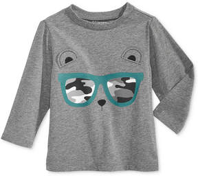 First Impressions Sunglasses-Print Cotton T-Shirt, Baby Boys (0-24 months), Created for Macy's