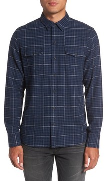 Paige Men's Everett Tattersall Check Sport Shirt