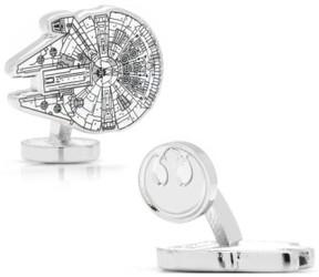 Cufflinks Inc. Men's Cufflinks, Inc. 'Star Wars(TM) - Millennium Falcon Blueprint' Cuff Links