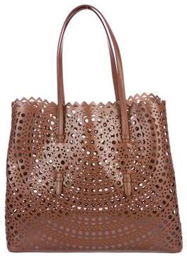 Alaia Laser-Cut Leather Tote w/ Tags
