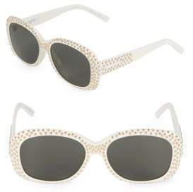 Saint Laurent 57MM Oval Sunglasses