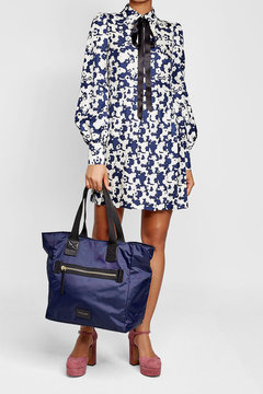 Marc Jacobs Fabric Tote - BLUE - STYLE