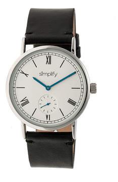 Simplify Mens Black Strap Watch-Sim5101