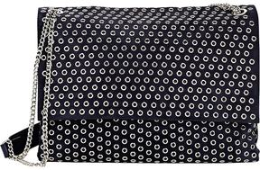 Lanvin LANVIN WOMEN'S GROMMET-EMBELLISHED SHOULDER BAG