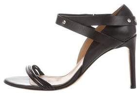 IRO Leather Studded Sandals