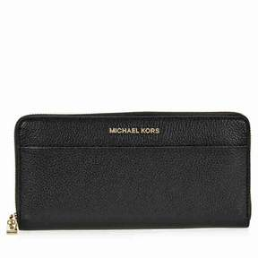 Michael Kors Mercer Leather Wallet - Black - AS SHOWN - STYLE