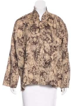 eskandar Patterned Casual Jacket