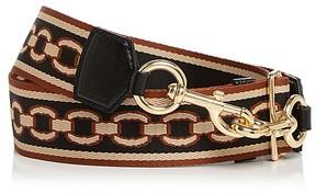 Marc Jacobs Chain Motif Handbag Strap - BLACK MULTI/GOLD - STYLE