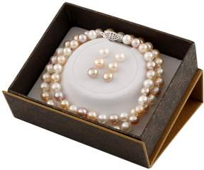 Bella Pearl Multicolor Freshwater Pearl Boxed Jewelry Set SET-F