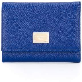 Dolce & Gabbana small 'Dauphine' wallet - BLUE - STYLE