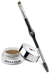 It Cosmetics Build-A-Brow 24hr Waterproof 5 in1 Creme Gel Stain w/ Brush