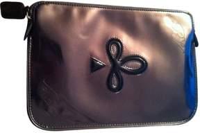 Roger Vivier Grey Leather Clutch bag