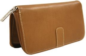 Women's Piel Leather Zip Around Wallet 2672