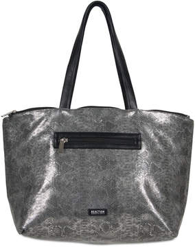 Kenneth Cole Reaction Faux-Leather Snake-Embossed Reversible Tote