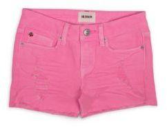 Hudson Girls Distressed Jean Shorts