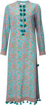 Figue Paolina paisley-print midi kaftan dress