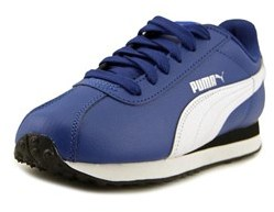 Puma Turin Youth Us 5 Blue Running Shoe.