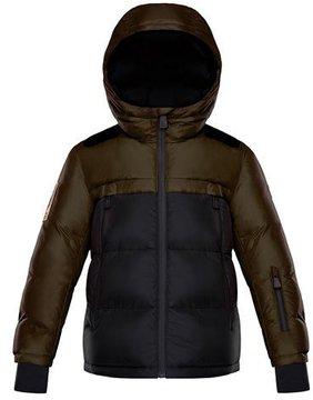 Moncler Harvey Technical Ski Jacket, Size 4-6