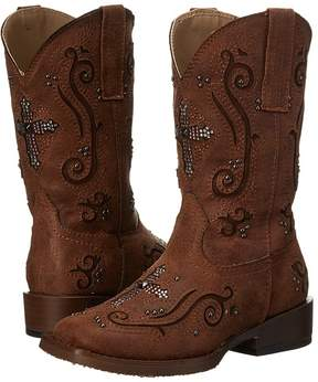 Roper Faith Crystal Cross Cowboy Boots