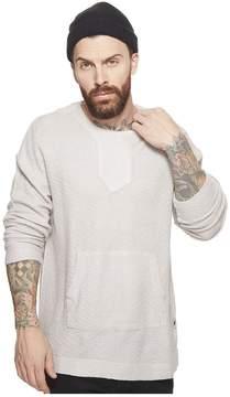 Publish Nico Long Sleeve Knit Sweater w/ Kangaroo Pocket Men's Sweater