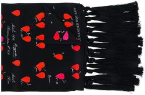 Alexander McQueen Petal print scarf