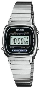 Casio Women's Digital Watch - Silver (LA670WA-1)