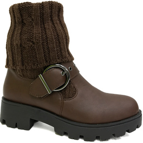 Bamboo Brown Tread Boot