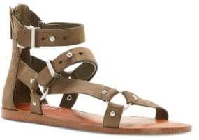 1 STATE 1.STATE Leather Strappy Sandals