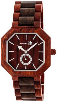 Earth Wood Acadia Unisex Red Bracelet Watch-Ethew4705