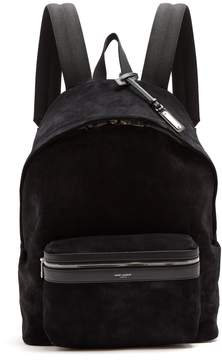 Saint Laurent Classic suede backpack