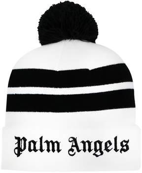 Palm Angels stripes beanie