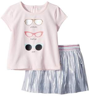 Kate Spade Kids Sunglasses Skirt Set Girl's Active Sets