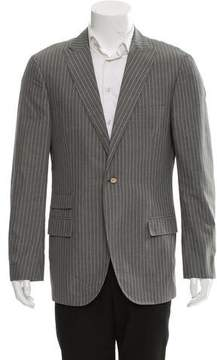 Michael Bastian Pinstripe Single Button Blazer