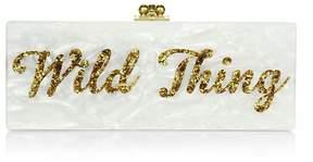 Edie Parker Women's Flavia Wild Thing Acrylic Clutch