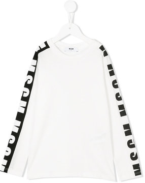MSGM branded long sleeved top
