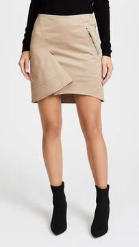 Barbara Bui Cotton Fold Skirt