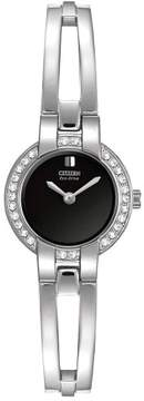 Citizen EW9990-54E Silver Analog Eco-Drive Women's Watch
