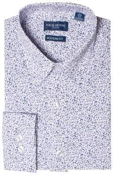 DAY Birger et Mikkelsen Men's Nick Dunn Stretch Modern-Fit Dress Shirt