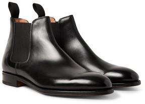John Lobb Lawry Polished-Leather Chelsea Boots