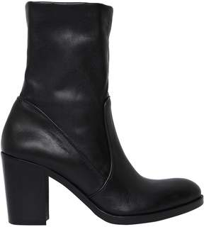 Strategia 80mm Stretch Leather Ankle Boots
