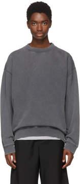 Acne Studios Black Fayte Wash Sweatshirt