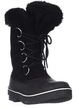 Style&Co. Sc35 Mikkey Lace-up Winter Boots, Black.