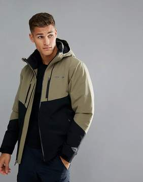 Columbia Millennium Blur Ski Jacket in Green/Black