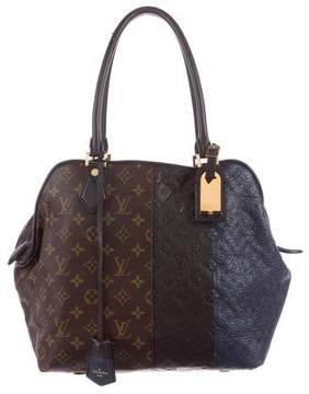 Louis Vuitton Marine Blocks Zipped Tote