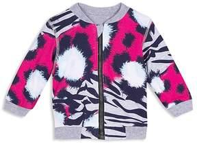 Kenzo Girls' Reversible Tiger-Print Jacket - Baby
