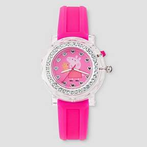 Nickelodeon Kids Peppa Pig® Flashing Watch - Pink