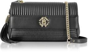 Roberto Cavalli Quilted Nappa Leather Shoulder Bag
