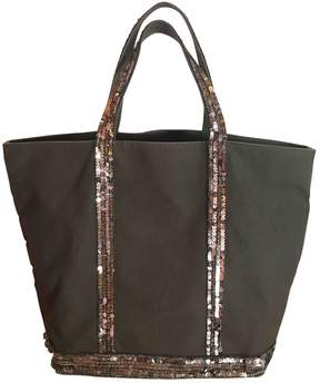 Vanessa Bruno Cabas Anthracite Cloth Handbag