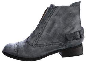 Joe's Jeans Jump Brogue Ankle Boots w/ Tags